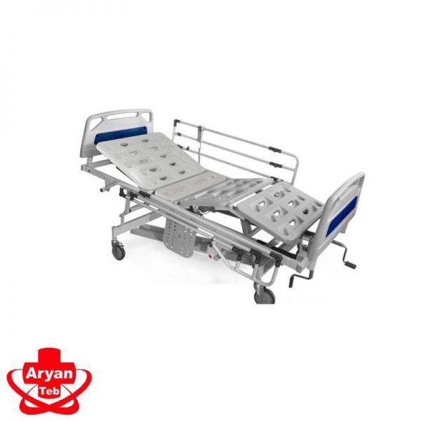 تخت بیمارستانی مکانیکی - تخت بیمار سه شکن