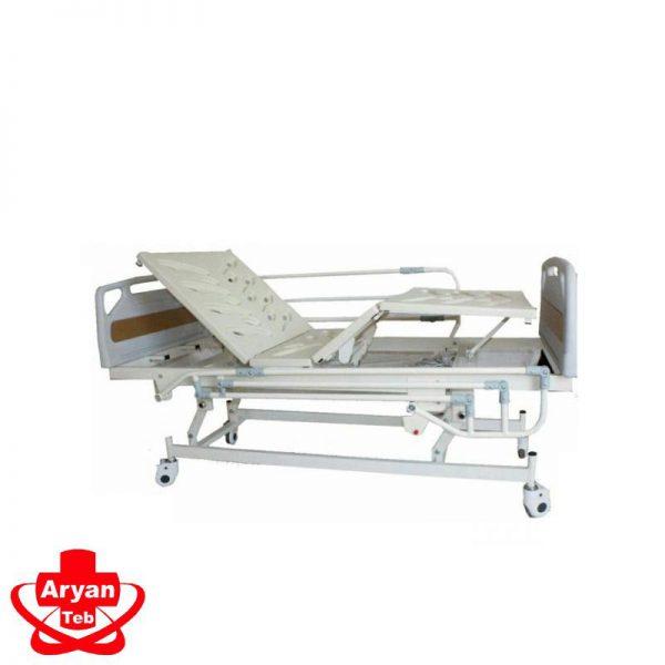 تخت بیمار برقی سه شکن - تجهیزات بیمارستانی - لوازم پزشکی