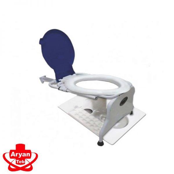 خرید توالت فرنگی دیواری با قیف تاشو برای سرویس بهداشتی از فروشگاه اینترنتی تجهیزات پزشکی آرین طب در کرج با بهترین قیمت امکان پذیر است.